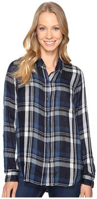 Lucky Brand Duo Fold Plaid Women's Clothing
