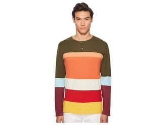 Missoni Color Block Henley Sweater Men's Sweater