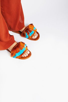 Watercolor Tassel Sandal by Jeffrey Campbell at Free People $128 thestylecure.com