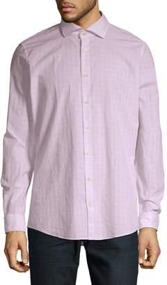 Strellson Button Down Long Sleeve Dress Shirt