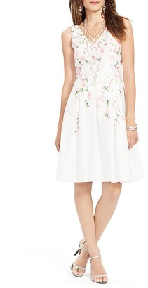 Lauren Ralph Lauren Dress - Sleeveless Floral Print