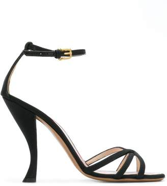 Thom Browne High Curved-Heel Sandal