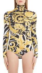 Versace Barco Print Bodysuit