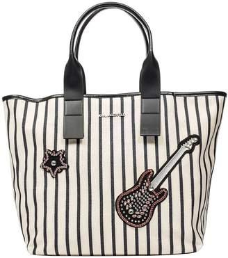 Karl Lagerfeld Klassik Sparkle Shopping Bag