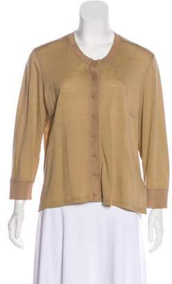 Sonia Rykiel Button-Up Long Sleeve Cardigan