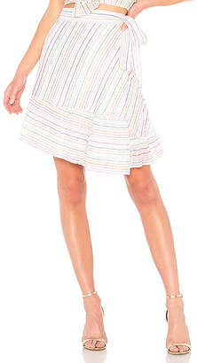 Apiece Apart Tamarind Wrap Skirt