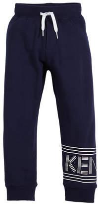 Kenzo Fleece Logo Jogger Pants, Size 14-16