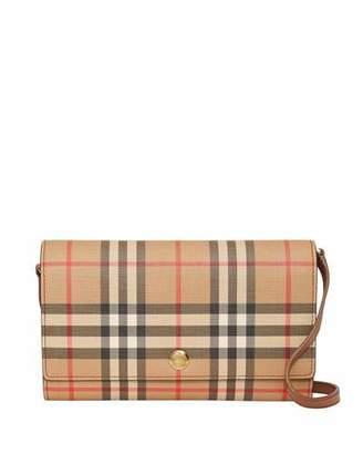 Burberry Hanna Vintage Check Crossbody Bag