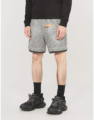 DSQUARED2 Icon logo-print cotton-jersey shorts