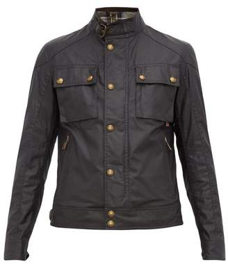 Belstaff Racemaster Waxed Cotton Jacket - Mens - Navy