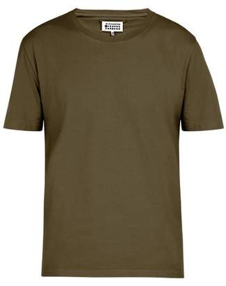 Maison Margiela Cotton T Shirt - Mens - Green