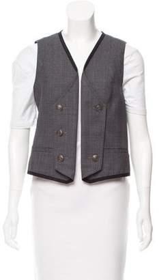 Rag & Bone Open-Front Vest