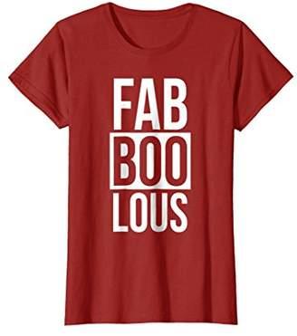 Faboolous T-Shirt Halloween Funny Ghost Trick Or Treat Joke