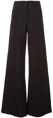 Derek Lam Cady Wide Leg Pintuck Trousers