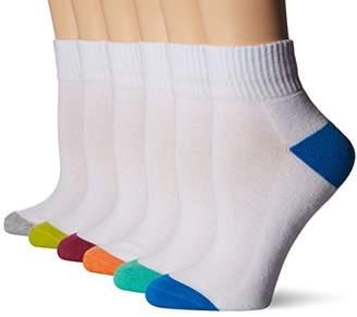 Keds Women's Color Heel/Toe 1/2 Cushion Sport Quarter Sock