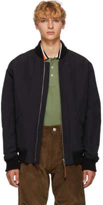 Loewe Black Pottery Bomber Jacket