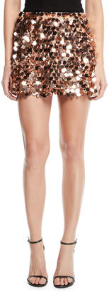 Ramy Brook Meera Sequined Mini Skirt
