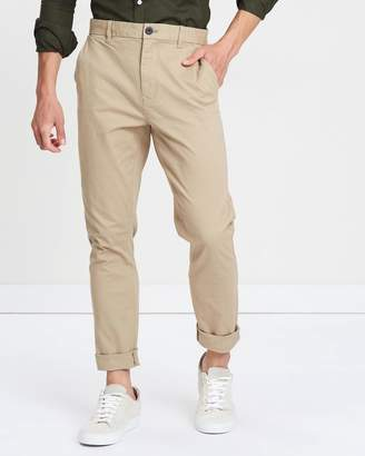 Stone Carter Tapered Fit Stretch Chinos