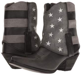 Durango Crush Fold Down Flag Boot Cowboy Boots