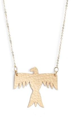 Women's Nashelle Phoenix Pendant Necklace $105 thestylecure.com
