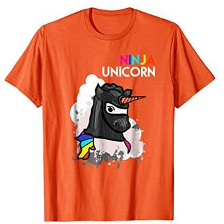 Unicorn Ninja Funny T-Shirt Cool Martial Arts Fighter Gift