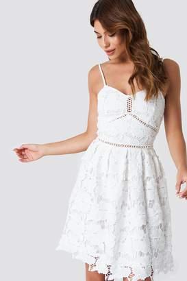Na Kd Boho Lace Strap Dress