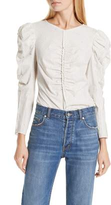 Rebecca Taylor Ruched Top