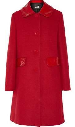 Love Moschino Coated Twill Coat