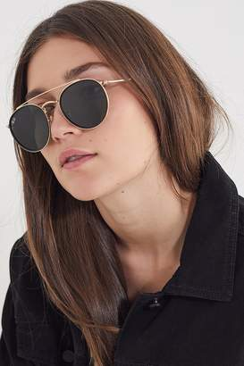 b72e6494bc at Urban Outfitters · Ray-Ban Round Double Bridge Sunglasses