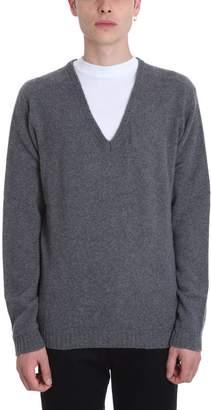 Mauro Grifoni Grey Wool Sweater