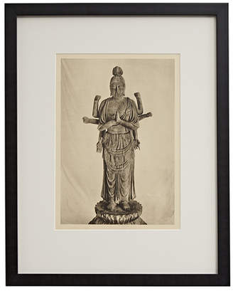 Rejuvenation Framed Photogravure of Chinese Marici Buddha