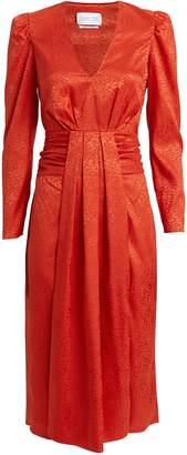 Saylor Farrow Satin Jacquard Dress