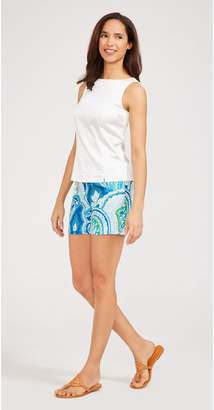 J.Mclaughlin Cannes Silk Shorts in Moroccan Paisley