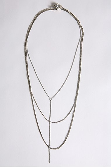 Chain and Twist Necklace