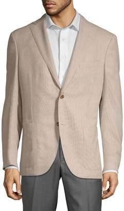 Luciano Barbera Regular-Fit Wool Jacket