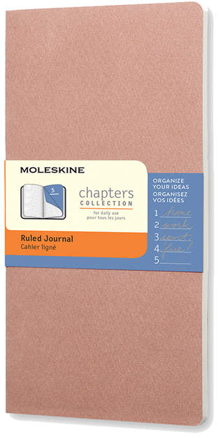 Rose Chapter Ruled Journal