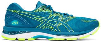 Asics Blue and Green Gel-Nimbus 20 Sneakers