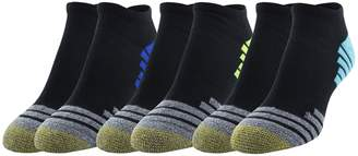 Gold Toe Women's Sport Tech Graphic No Show Socks 6 Pairs Light Pink