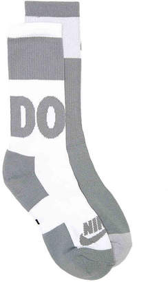 Nike Just Do It Crew Socks - 2 Pack - Men's