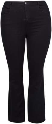 Dorothy Perkins Womens **Dp Curve Black 'Ellis' The Classic Bootcut Jeans