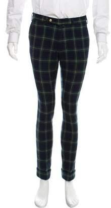 Michael Bastian Gant x Plaid Wool Pants