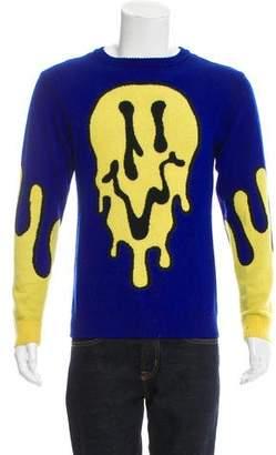 Jeremy Scott 2012 Oversize Melted Face Sweater