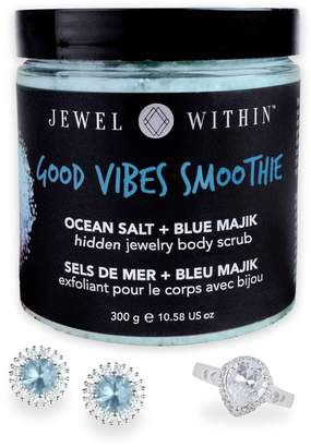 Jewel Within Good Vibes Hidden Jewelry Body Scrub