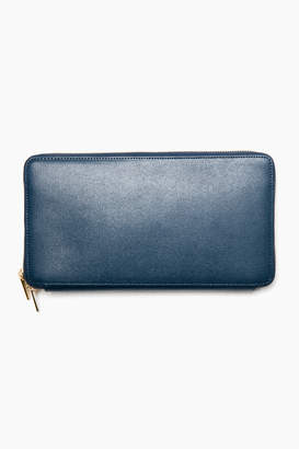 Neely & Chloe Neely Chloe Navy Saffiano Leather The Travel Wallet