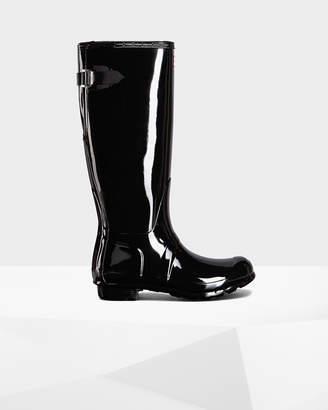Hunter Women's Original Adjustable Gloss Rain Boots