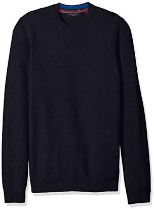 Ted Baker Men's Marlin-ls Stitch Detail Crew Neck
