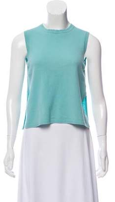 Gucci Sleeveless Cashmere Top