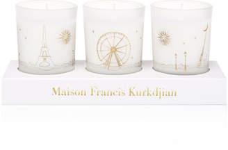 Francis Kurkdjian Three Scented Candles Set, 70 g each