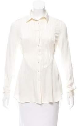 Marissa Webb Silk Button-Up Tunic