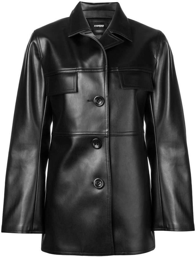 Kwaidan Editions pointed collar jacket